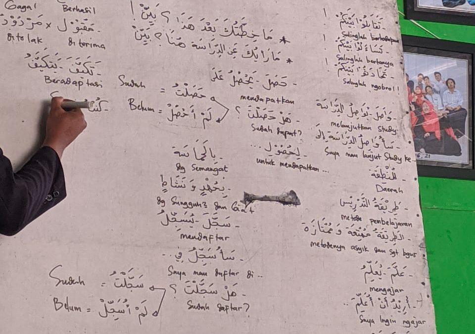 Belajar Uslub di Kelas Fulltime Al-Azhar Pare
